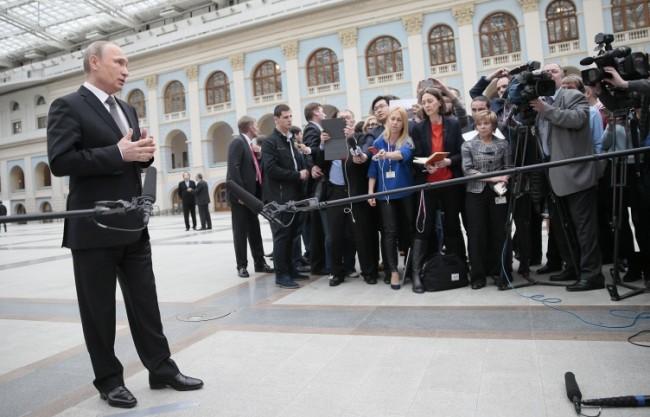 Путин: Санкциите срещу Русия трябва да бъдат използвани за стимул на икономиката