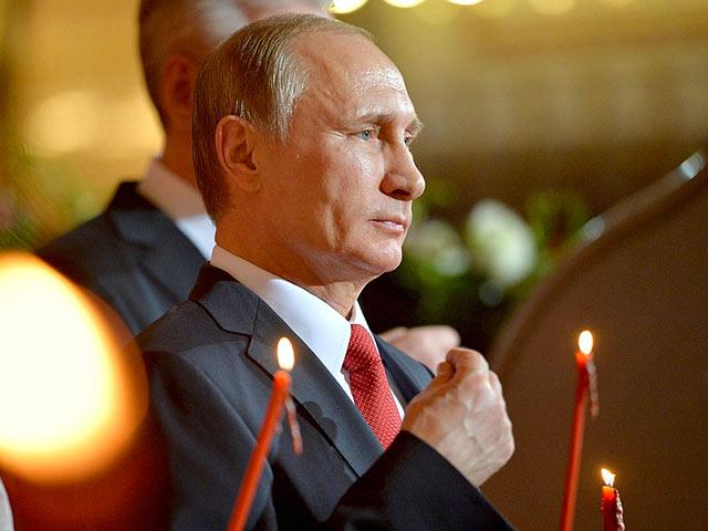 Путин поздрави православните с Възкресение Христово