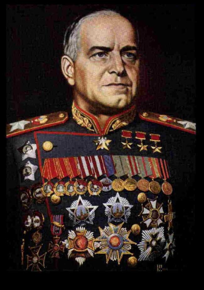 Откриване на паметник на маршал Жуков