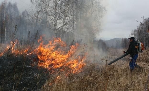 Всички пожари в Хакасия са потушени