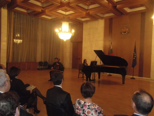 Великденски концерт се състоя в Гербовата зала на посолството на България в Русия.