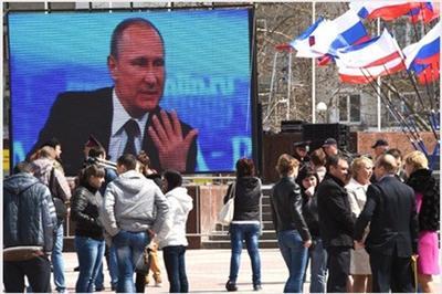 Над 8 милиона руснаци гледали Путин в Пряка линия