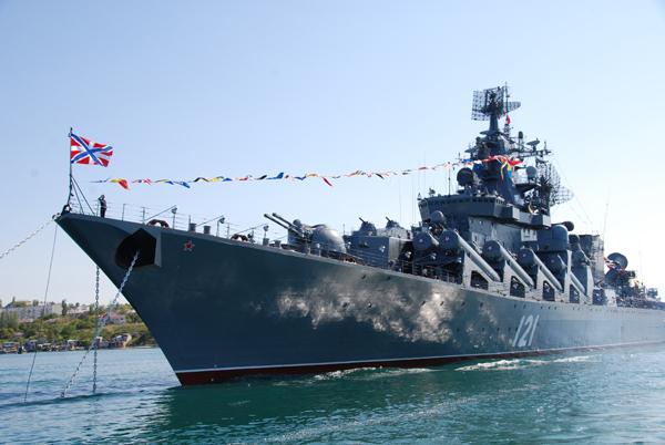 """Крайцерът """"Москва"""" – гордостта на руския флот"""