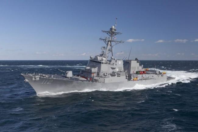 Американският есминец Jason Dunham се е насочил към Украйна