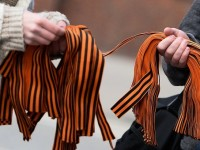 В Латвия искат да забранят Георгиевската лента на публични места