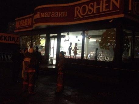 Стреляха по Roshen в Киев