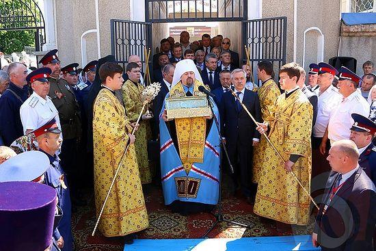 Близо половин милион вярващи в Русия се поклониха пред мощите на Св. Георги Победоносец