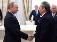 Путин проведе преговори с Кастро в Кремъл
