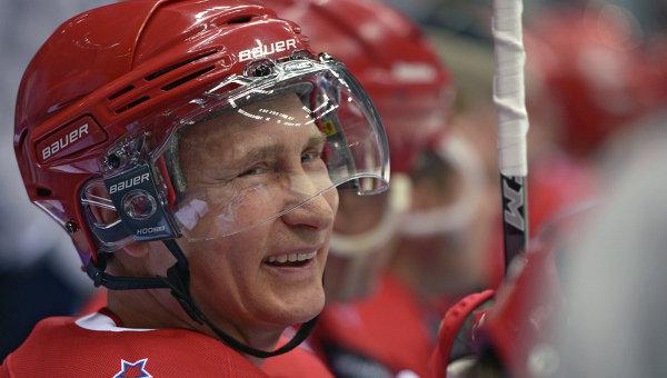 Telegraph: Хокейният триумф на Путин показа, че той е в отлична форма