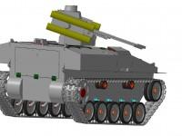 3D модел на роботизираната платформа УРП-01Г.