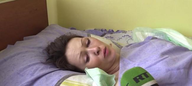 Жителка на Горловка разказа как е загинало семейството й: Дъщеря ми бе разкъсана на парчета