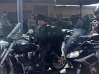 """""""Нощните вълци"""" продължават похода си през Германия под полицейски надзор"""