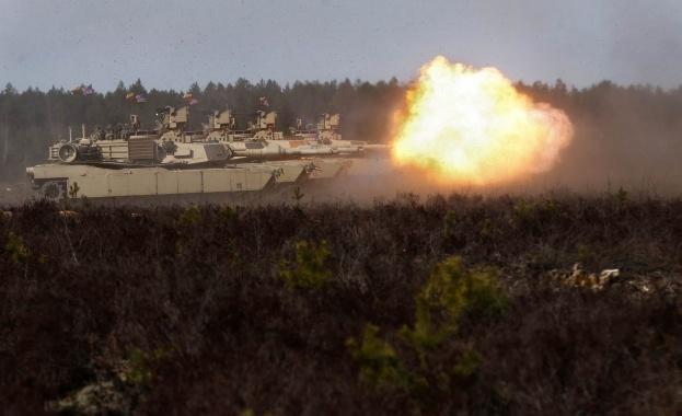 Американски танк M1A2 Abrams пристигна в Бургас