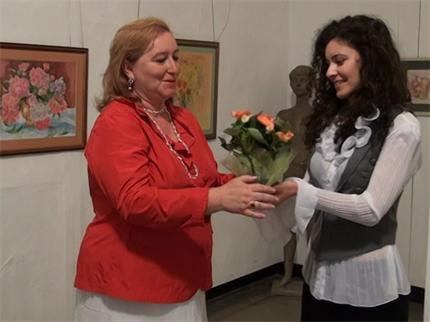 Руската Агата Кристи подреди нежна изложба