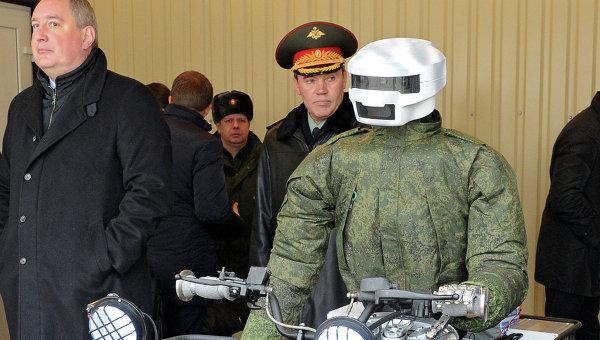 Разработваният от руските учени боен робот до края на годината ще може да тича