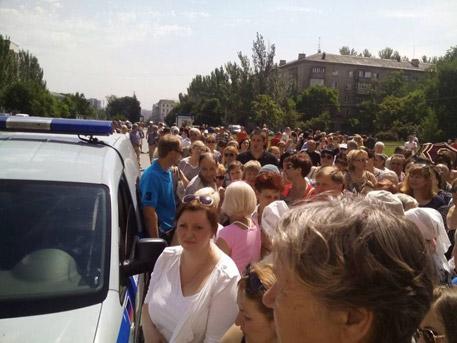 Бежанците се завръщат в Донецк