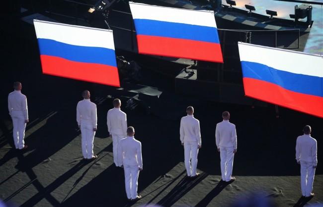 За руското знаме