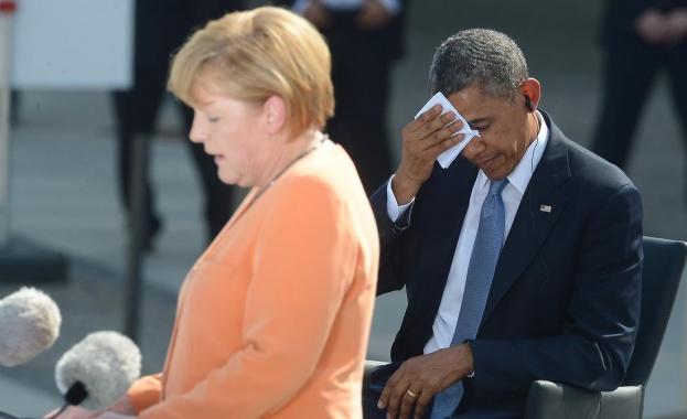 Spiegel: Имиджът на американска марионетка не е най-добрата перспектива за Меркел