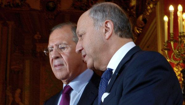Лавров и Фабиюс обсъдиха ситуацията в Близкия Изток