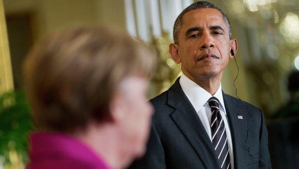 DWN: Обама и Меркел неочаквано смекчиха риториката по отношение на Русия