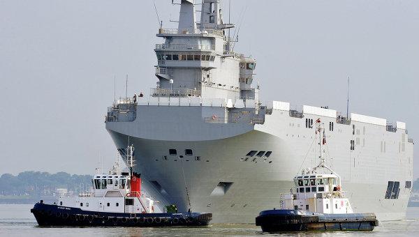 """Франция предаде на Русия част от технологиите за строителството на """"Мистрал"""""""