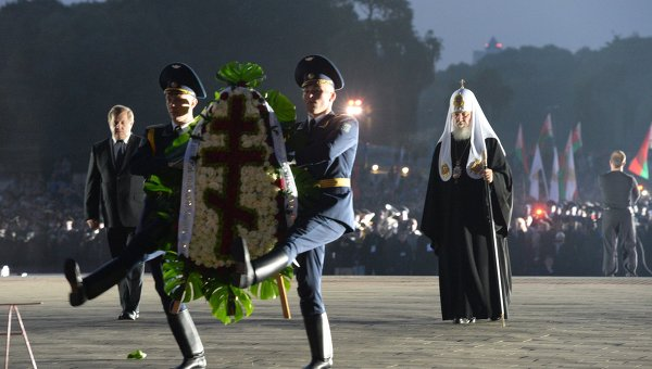 Патриарх Кирил извърши богослужение в Брестката крепост
