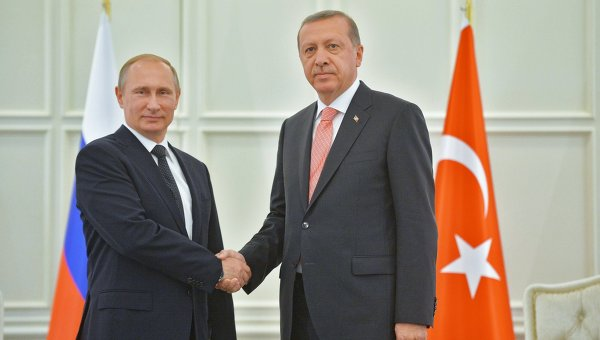 Путин се срещна с Ердоган