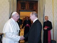 Путин ще се срещне с папа Франциск на 10 юни