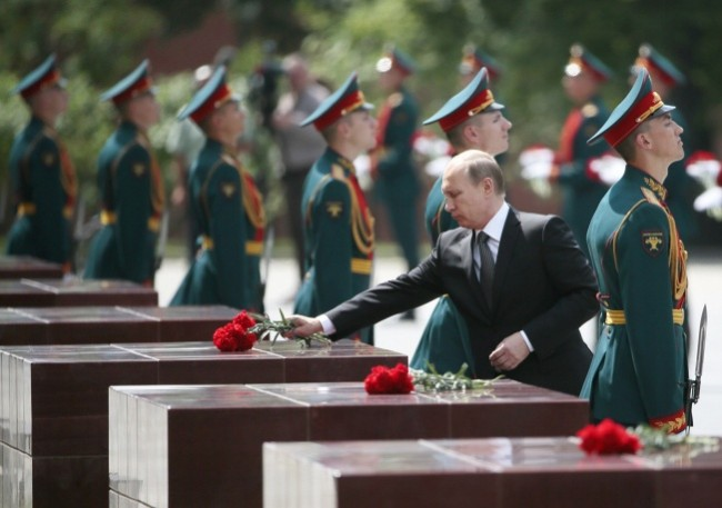 Путин: Наш свещен дълг е да бъдем верни на великите ценности на патриотизма