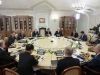 """""""Русия не е агресор"""". Срещата на Путин с ръководителите на световните информационни агенции"""