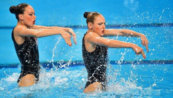 Русия със злато при двойките в синхронното плуване