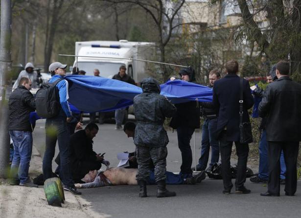 Убиецът на опозиционния украински писател Бузина се оказа подчинен на вътрешния министър на Украйна