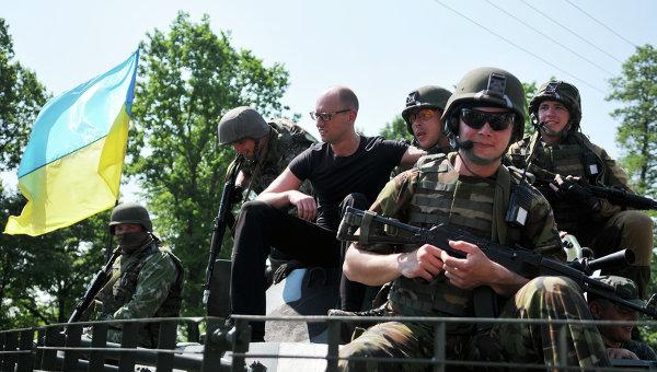 Американска военна техника се появи в Западна Украйна