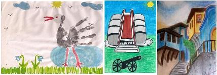 """Шести международен конкурс за детска рисунка – """"ОБИЧАМ МОЯТА РОДИНА"""" – Финален кръг"""