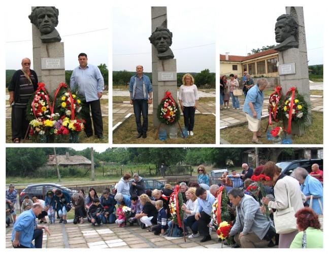 Белгийски антифашист участва в поклонението пред паметника на Николай Лъсков