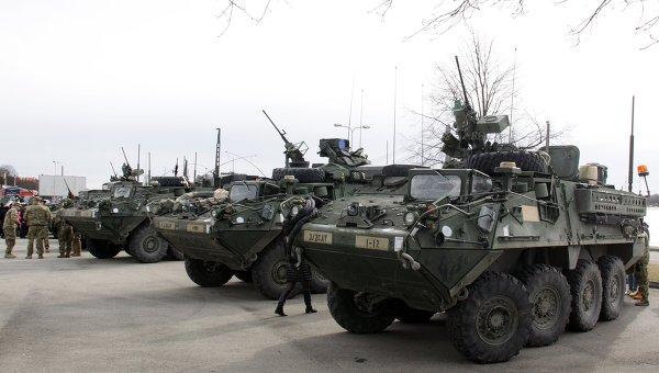 САЩ признаха руските бронетранспортьори в Европа за по-добри