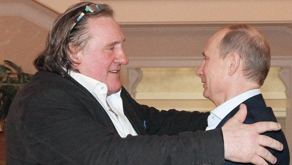 """Ouest-France: Уважението към Путин превърна Депардийо в """"заплаха"""" за Украйна"""