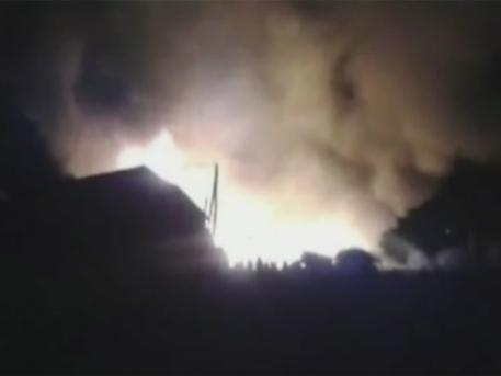Донецк в пламъци след чудовищен обстрел на украинската армия