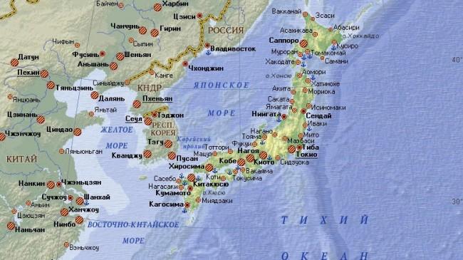 Китай и Русия с мащабни военни учения в Японско море