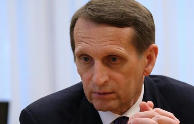 Наришкин: Политиката на ЕС по отношение на Украйна удари като бумеранг европейския континент