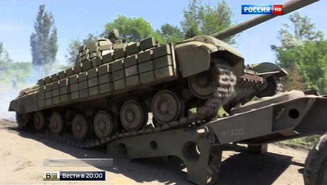 На акта на добра воля на републиките в Донбас Киев отвърна с тежка артилерия