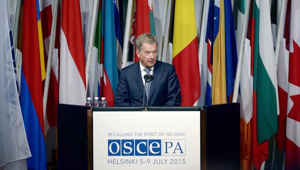 Финландският президент критикува ЕС по повод участието на Русия в ПА на ОССЕ