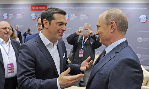 Путин изрази подкрепата си към гръцкия народ