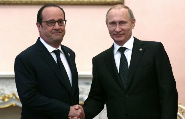 Путин обсъди с Оланд резултатите от референдума в Гърция