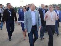 "Путин посети младежкия форум ""Територия на смислите"""