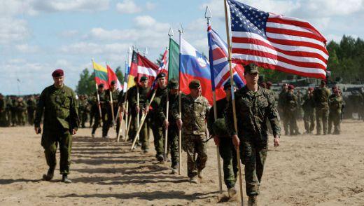 """Учение на НАТО """"Удар със сабя"""""""