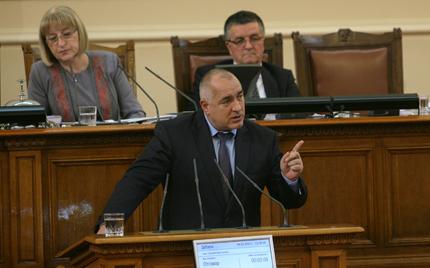 Борисов: За никоя държава не е приятно да се разхождат танкове и гаубици в нея