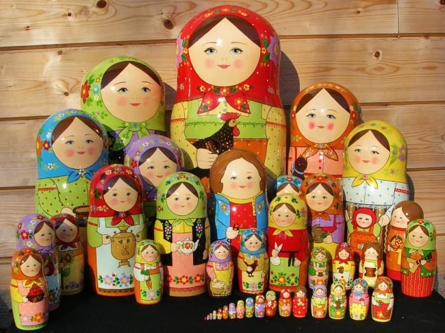 Как матрьошката стана главен символ на Русия