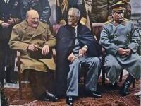 """Тримата големи"""" на Кримската конференция"""