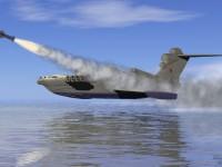 Русия възобновява производството на ударни екраноплани
